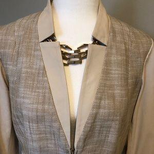 Danier leather suit jacket